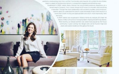 Trudi Norris painting featured in Modern Luxury Magazine