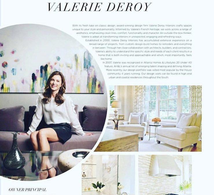 Trudi Norris painting featured in Modern Luxury Magazine