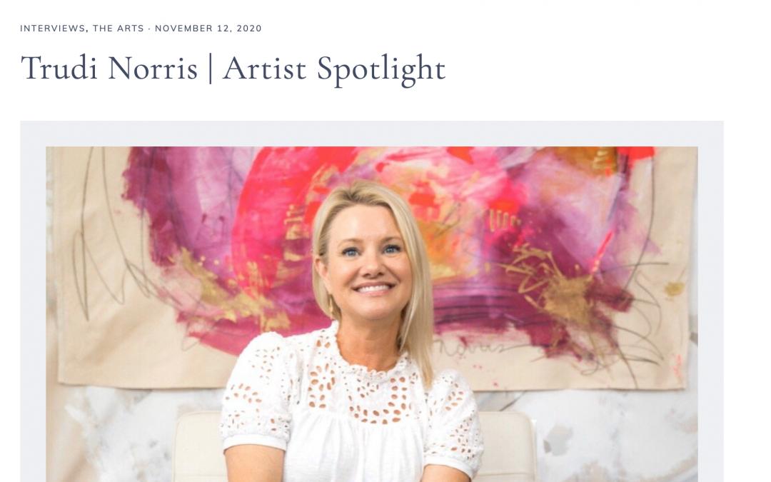 The Avid Pen: Artist Spotlight featuring Trudi Norris